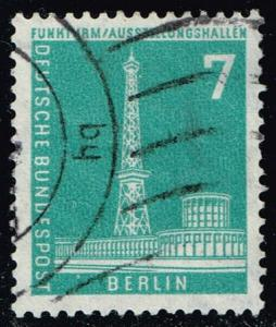 Germany #9N123 Radio Station; Used (0.25)