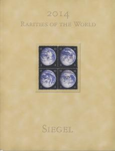 2014 Rarities of the World, Siegel Auction 1075. Rare world stamps and covers