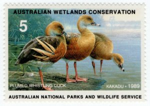 (I.B) Australia Cinderella : Wetlands Conservation $5 (Kakadu)
