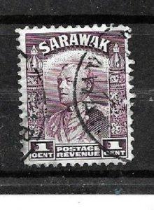 Sarawak Stamps- Scott # 109/A19-1c-Canc/LH-1934-41-OG