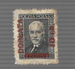 Poland 1936 - Scott #J92A *