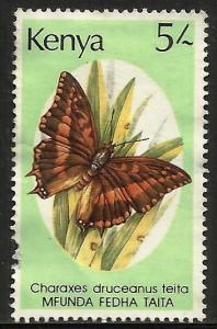 Kenya 1988 Scott# 436 Used (left perfs)