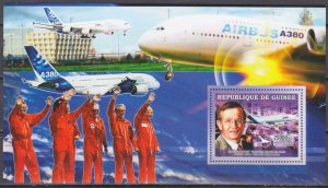 2006 Guinea 4516/B1102 Airbus A-380 / Jacques Rosay 7,00 €