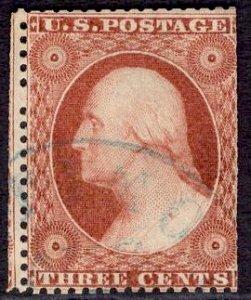 US Stamp Scott #25 Used SCV $180