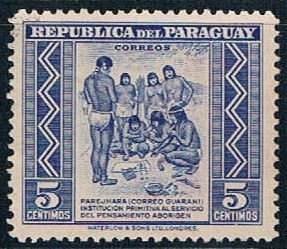 Paraguay Natives 5 - pickastamp (PP8R702)