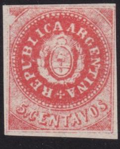 ARGENTINA  An old forgery of a classic stamp...............................69118