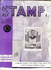 Stamps Weekly Magazine of Philately May 20, 1933 Stamp Collecting Magazine