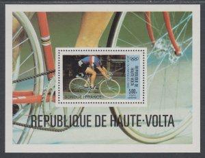 Burkina Faso C262 Olympics Souvenir Sheet MNH VF