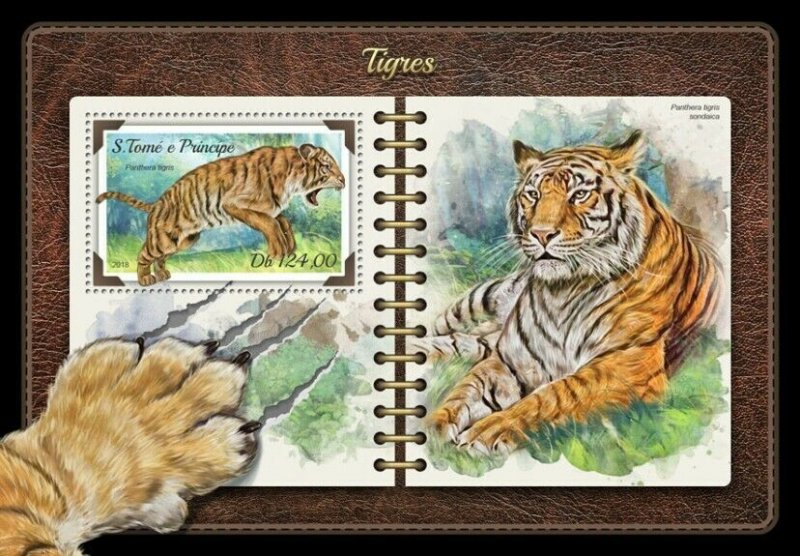 HERRICKSTAMP NEW ISSUES ST. THOMAS Tigers S/S