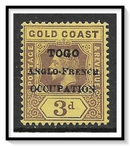 Togo #84 Anglo-French Occupation MHR