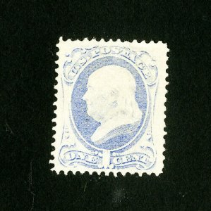 US Stamps # 145 XF Disturbed OG HR Catalog Value $650.00