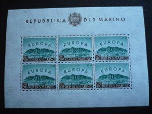 Europa 1961 - San Marino - Souvenir Sheet