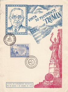 BR3) BRAZIL 1947 VISIT OF PRESIDENT TRUMAN
