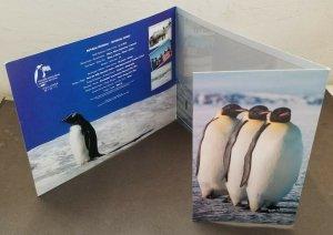 Malaysia Antarctic Research 2012 Penguin Bird Fauna Earth (folder) *limited
