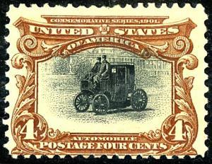 U.S. #296 MINT