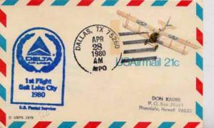 United States, First Flight, Texas, Utah