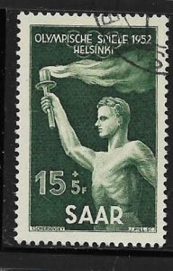 SAAR, B89, USED, OLYMPIC TORCH