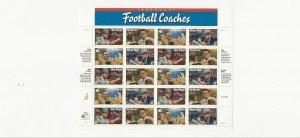US Stamps Sheet/Postage Sct #3146a Football Coaches MNH F-VF OG  FV 6.40