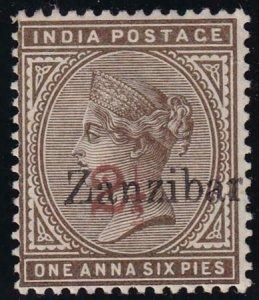 Zanzibar 1896 SC 24C