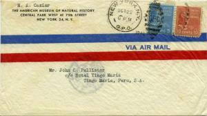 United States Prexies 5c Monroe and 10c Tyler Prexie 1946 New York, N.Y. G.P....