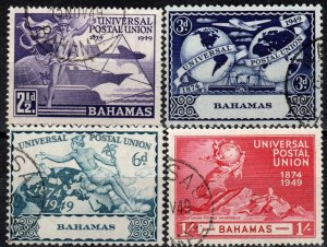 Bahamas #150-53   F-VF Used CV $9.30  (X1238)
