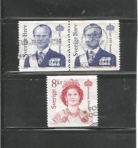 #2397 - #2398 King Carl XVI Gustaf