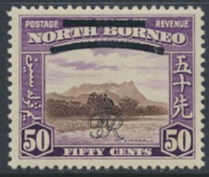 North Borneo  SG 346 SC# 234 MH    OPT GR Crown - See scans