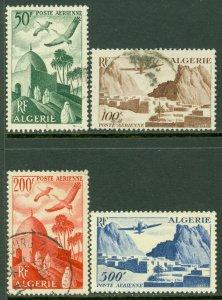 EDW1949SELL : ALGERIA Scott #C8-11 Complete set. Very Fine, Used. Catalog $26.45