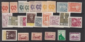 CENTRAL  LITHUANIA  ^^^^^sc# 1//J3   mint   hinged CLASSICS   $$@ lar1050lith50