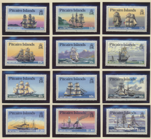 Pitcairn Islands Stamps Scott #298 To 309, Mint Lightly Hinged - Free U.S. Sh...