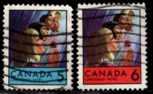 Canada - #502 - 503 Christmas 1969 - Children set/2 - Used