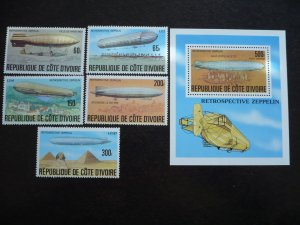 Ivory Coast - Set - History of the Zeppelin