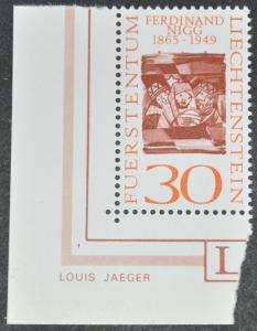DYNAMITE Stamps: Liechtenstein Scott #402 - MNH
