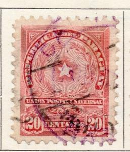 Paraguay 1913 Early Issue Fine Used 20c. 147500