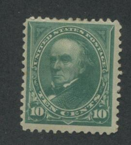 1895 US Stamp #273 10c Mint Hinged F/VF Original Gum Catalogue Value $95