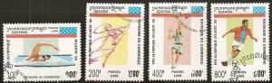 Cambodia 1420-23 - CTO - Olympics (cv $1.20)