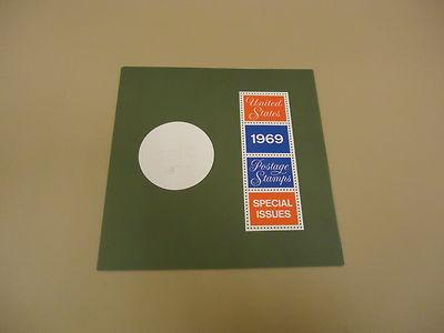 USPS 1969 Special Issues Postage Stamps United States Folder