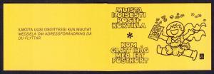 Finland 555a Booklet CV $2.50