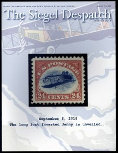 The Siegel Despatch #61: long lost Inverted Jenny. Winter 2018