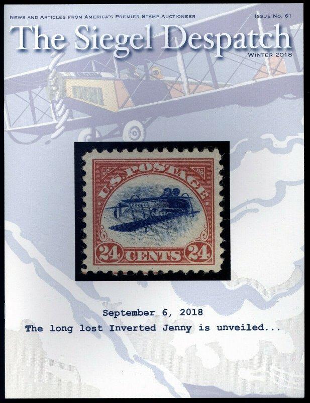 The Siegel Despatch #61: long lost Inverted Jenny. Winter 2018