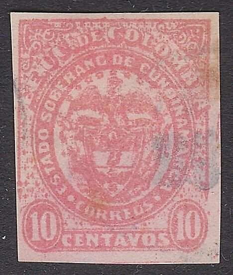 COLOMBIA An old forgery of a classic stamp..................................A768