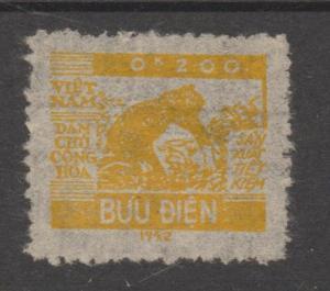Vietnam 1953 Rice Harvesting The Unissued 0K200 MNGAI LUXE RRRRRR