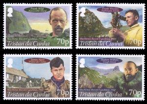 Tristan da Cunha 2012 Scott #979-982 Mint Never Hinged