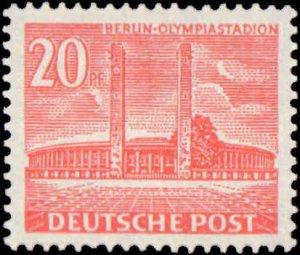 German Occupation #9N101-9N102, Complete Set(2), 1953-1954, Never Hinged