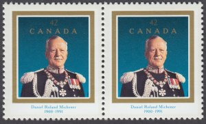 Canada - #1447i Order Of Canada/Roland Michener - Pair - MNH