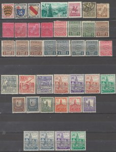 COLLECTION LOT # 5364 GERMANY OCCUPIED 40 STAMPS 1945+ CLEARANCE