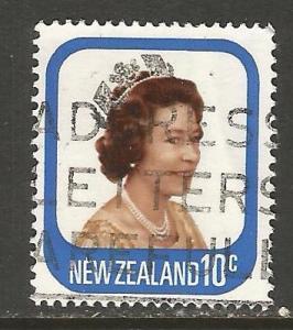 NEW ZEALAND 648 VFU QEII M776