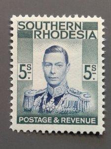 Southern Rhodesia 54 F-VF MH. Scott $ 13.00