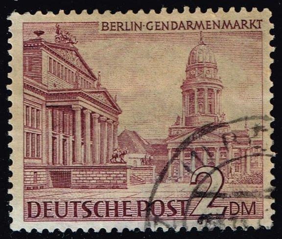 Germany #9N58 Gendarmen Square; Used (1.50)