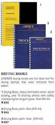 Lindner Drying Book, Plain, 10 Blotting Sheets, Small Siz...